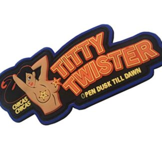"pvc patch ""Titty twister"""